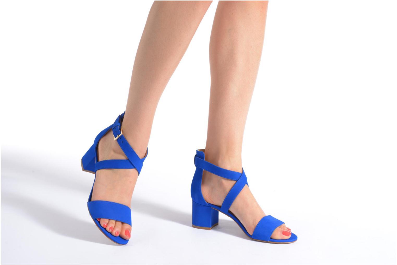 Sandales et nu-pieds Minelli F93 830/NUB Bleu vue bas / vue portée sac
