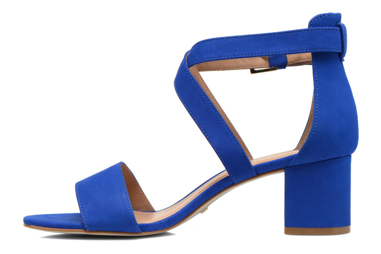 Sandales et nu-pieds Minelli F93 830/NUB Bleu vue face