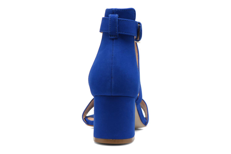 Sandales et nu-pieds Minelli F93 830/NUB Bleu vue droite