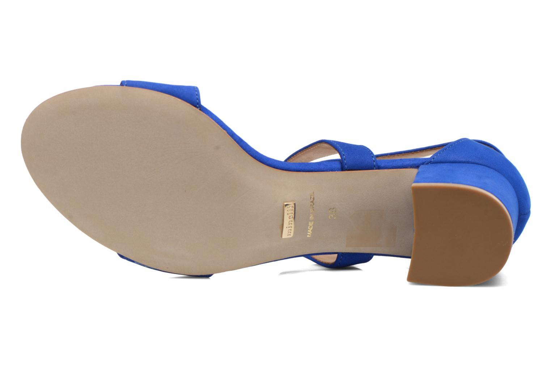 Sandales et nu-pieds Minelli F93 830/NUB Bleu vue haut