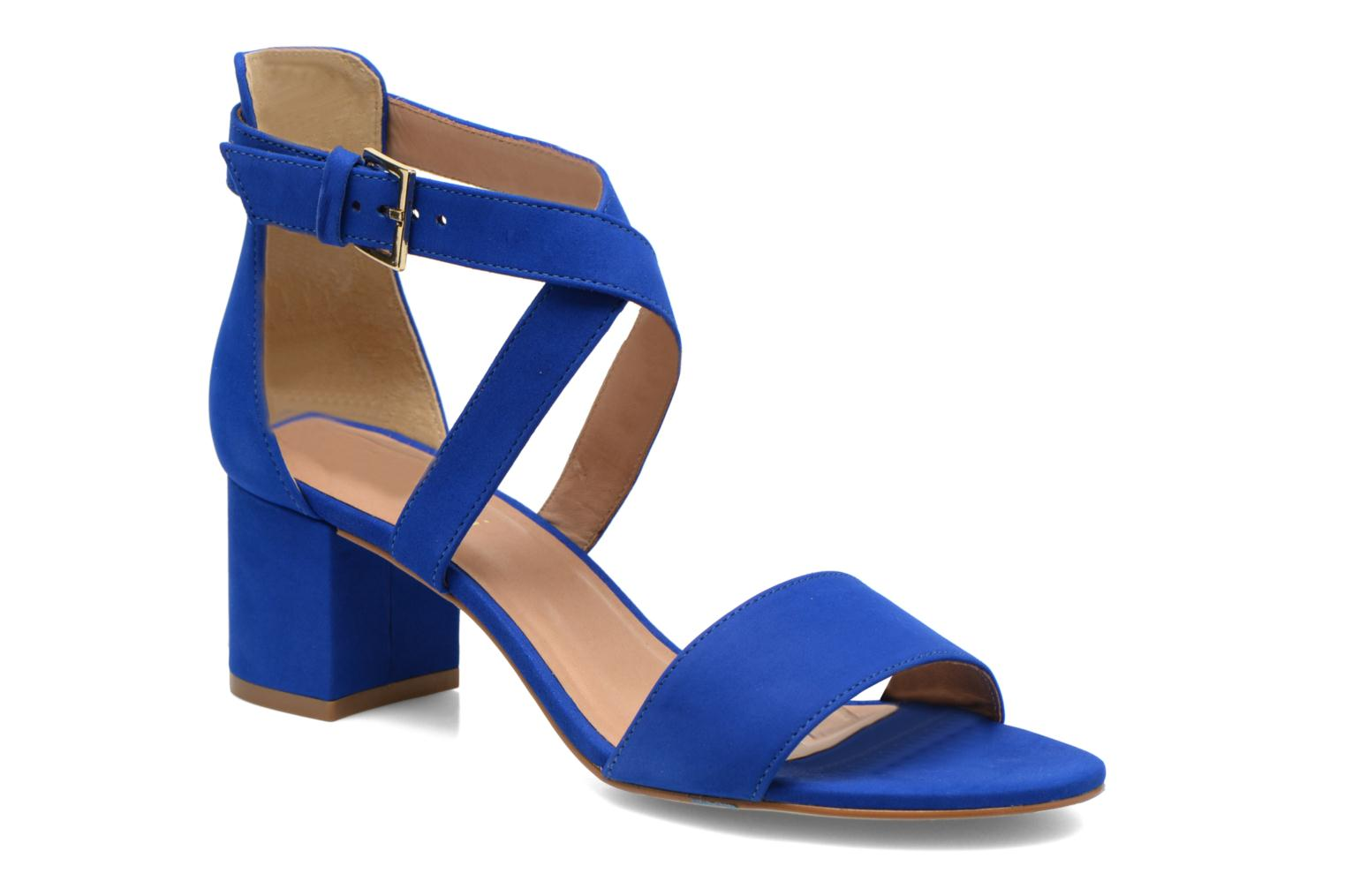 Sandals Minelli F93 830/NUB Blue detailed view/ Pair view