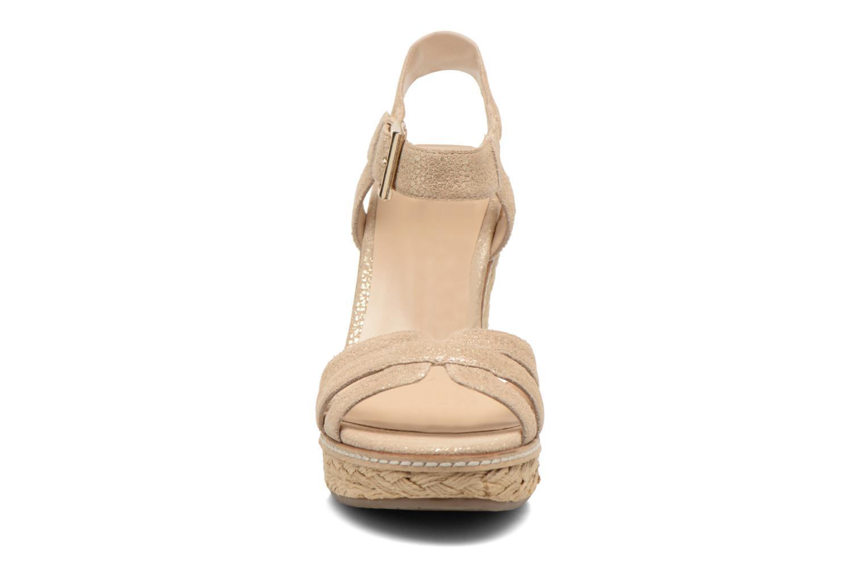 Sandalen Minelli F93 819/MET beige schuhe getragen