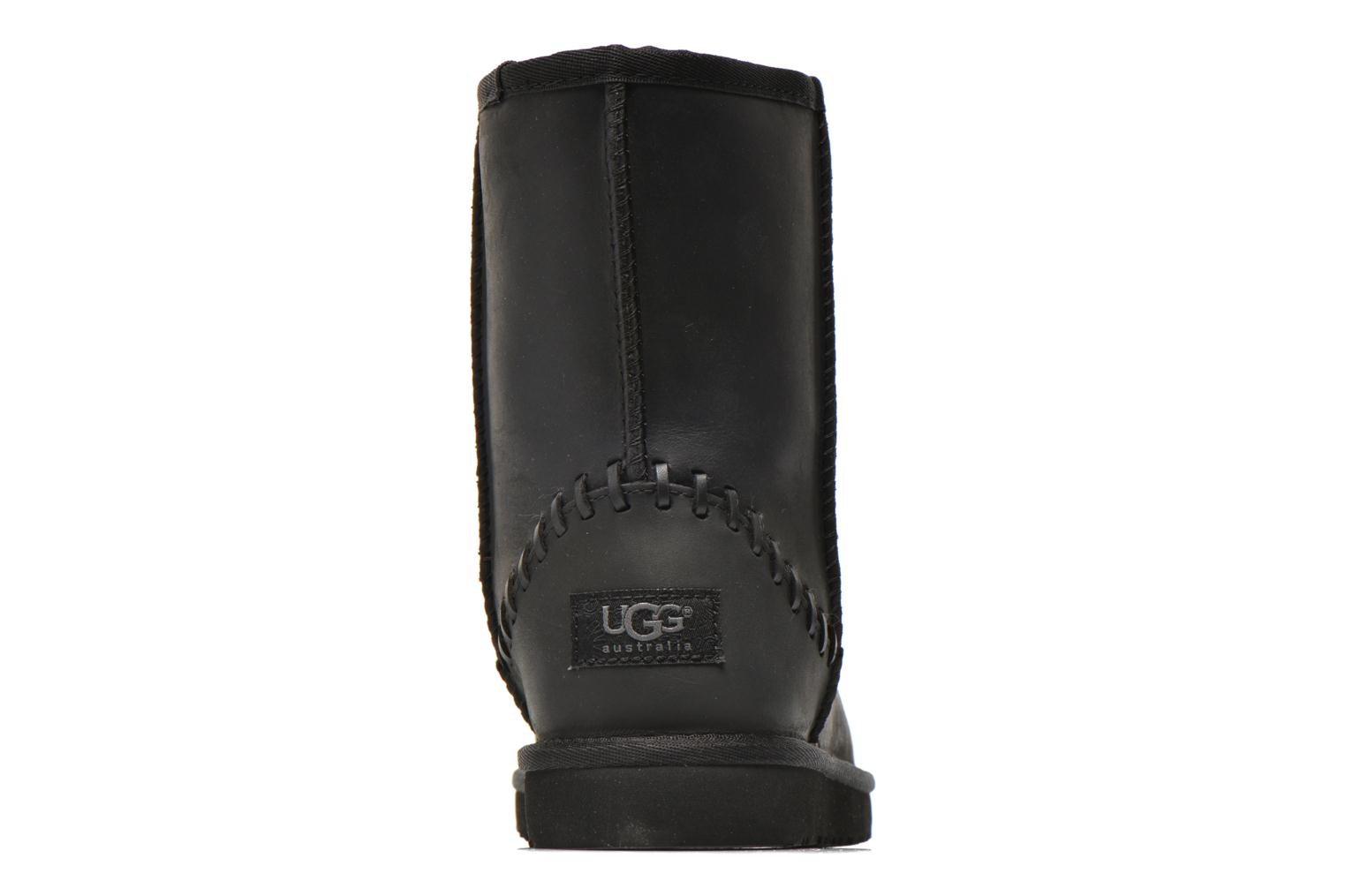Boots & wellies UGG K Classic Short Deco Black view from the right