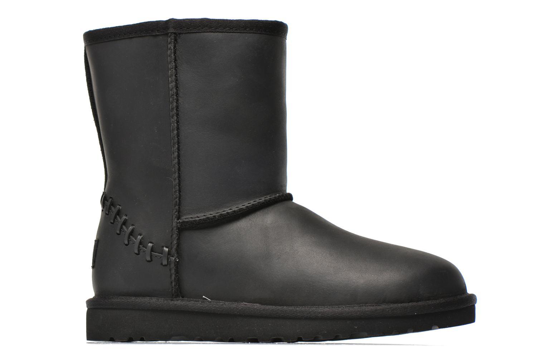 Laarzen UGG K Classic Short Deco Zwart achterkant