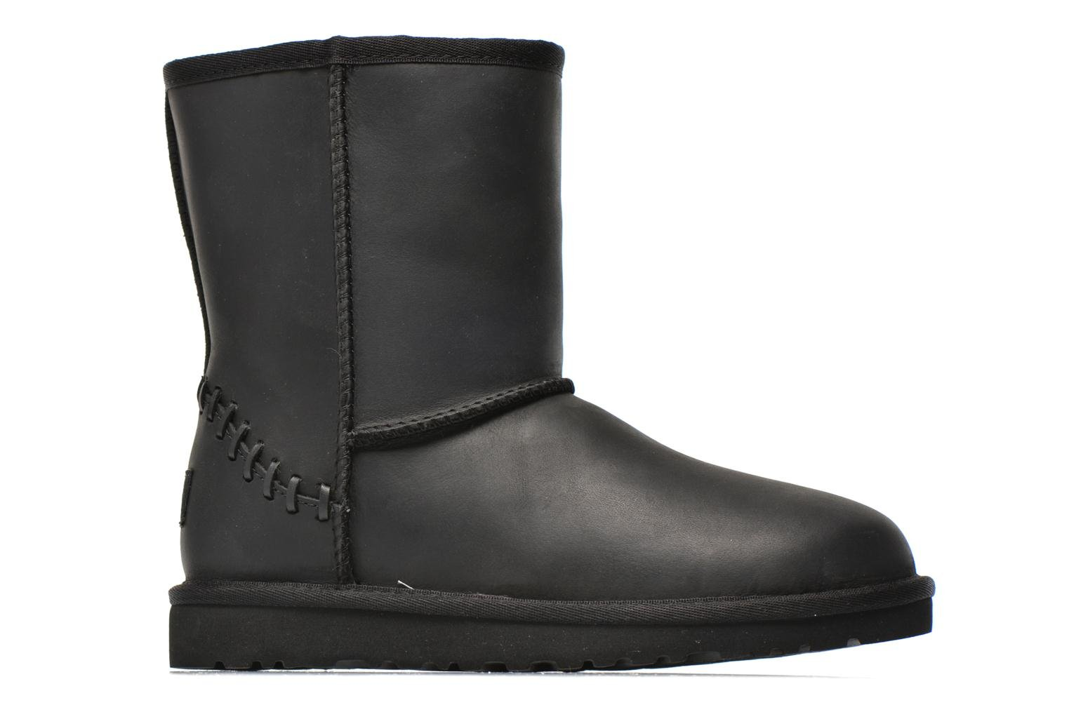 Boots & wellies UGG K Classic Short Deco Black back view