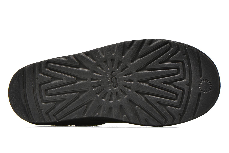Botas UGG K Classic Short Deco Negro vista de arriba