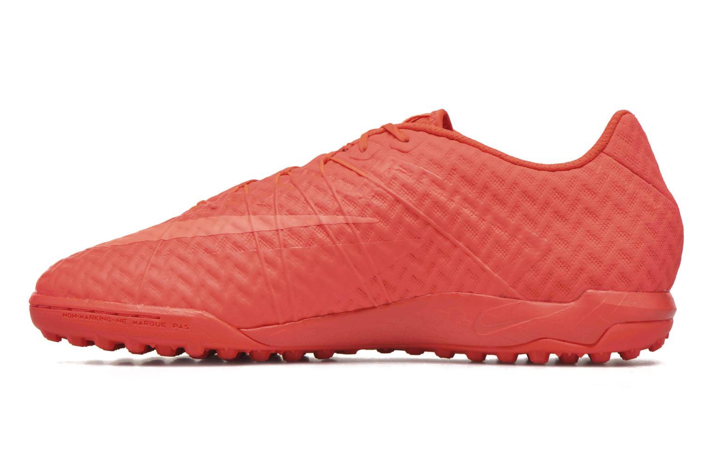 Chaussures de sport Nike Hypervenomx finale tf Orange vue face