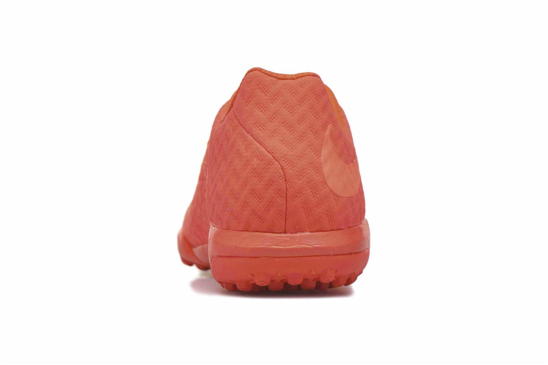 Chaussures de sport Nike Hypervenomx finale tf Orange vue droite
