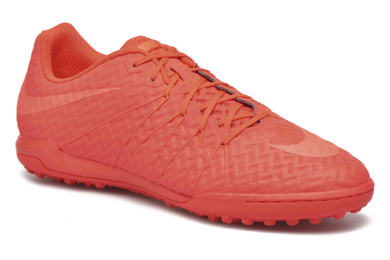 Chaussures de sport Nike Hypervenomx finale tf Orange vue détail/paire