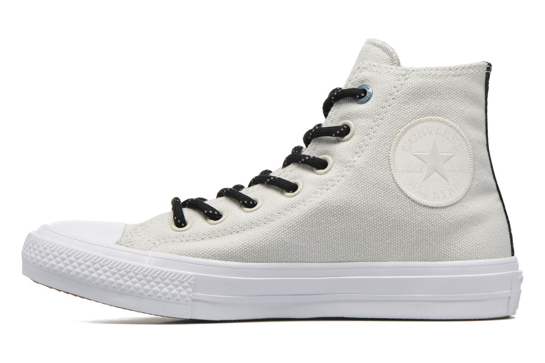 Sneakers Converse Chuck Taylor All Star II Hi W Grijs voorkant