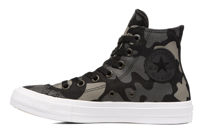 Sneaker Converse Chuck Taylor All Star II Hi W schwarz ansicht von vorne