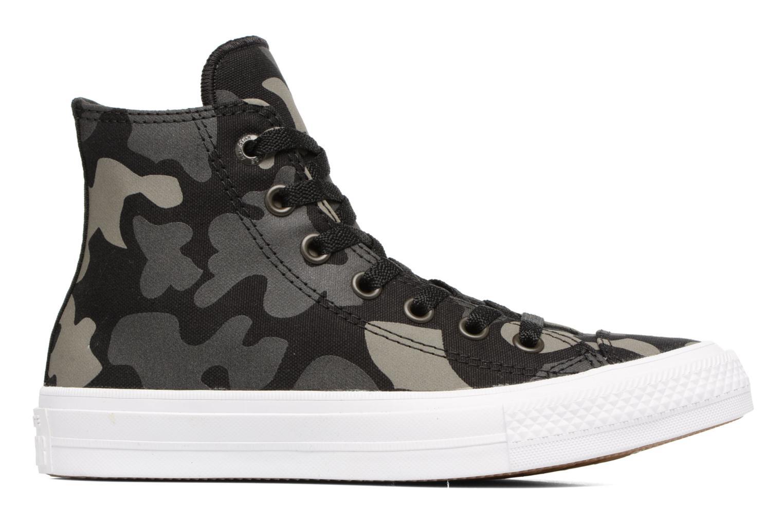 Sneaker Converse Chuck Taylor All Star II Hi W schwarz ansicht von hinten