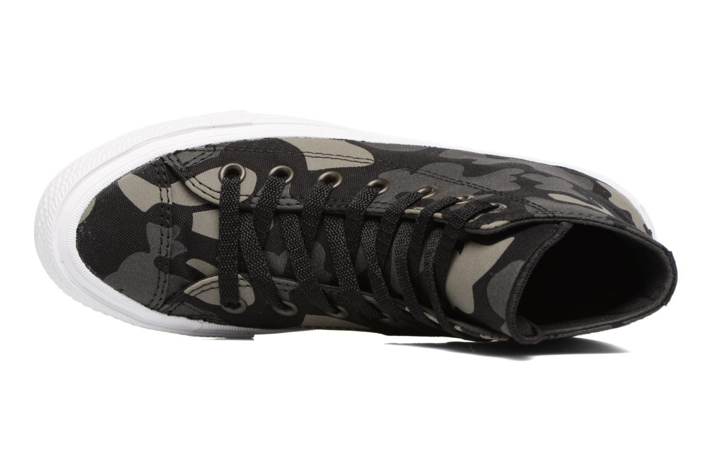 Sneaker Converse Chuck Taylor All Star II Hi W schwarz ansicht von links