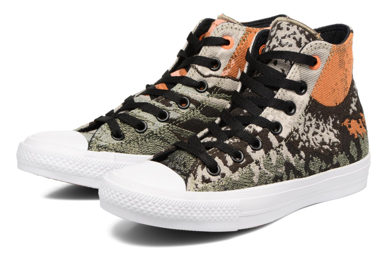 Sneakers Converse Chuck Taylor All Star II Hi W Verde immagine 3/4