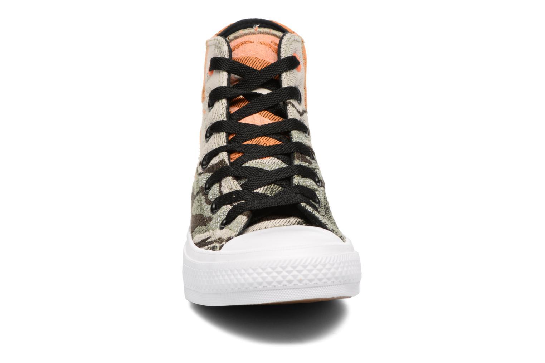 Sneaker Converse Chuck Taylor All Star II Hi W grün schuhe getragen