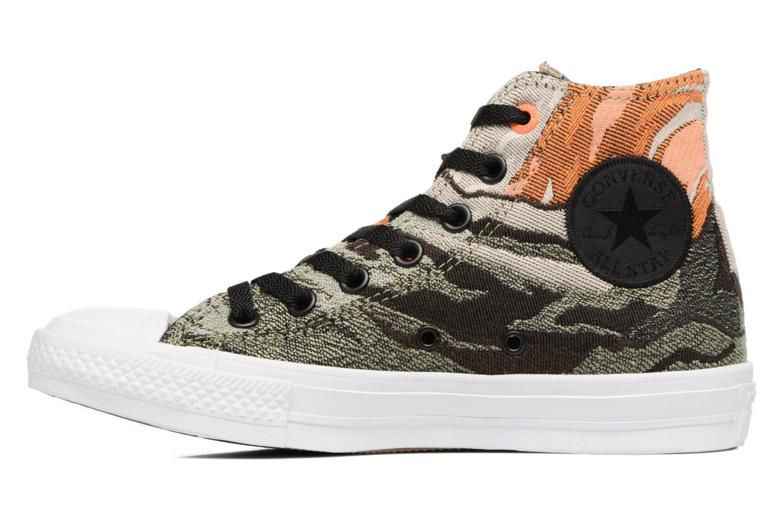 Sneaker Converse Chuck Taylor All Star II Hi W grün ansicht von vorne