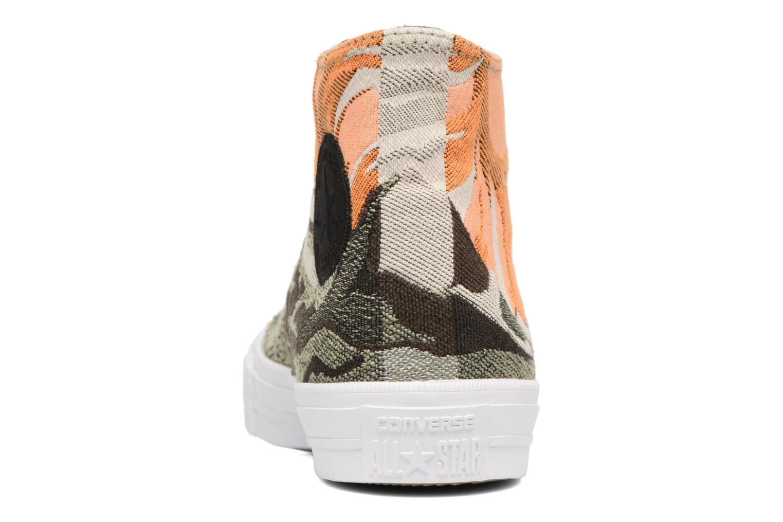 Sneakers Converse Chuck Taylor All Star II Hi W Verde immagine destra