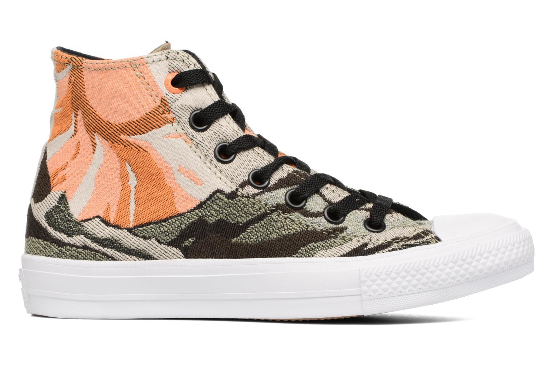 Sneaker Converse Chuck Taylor All Star II Hi W grün ansicht von hinten