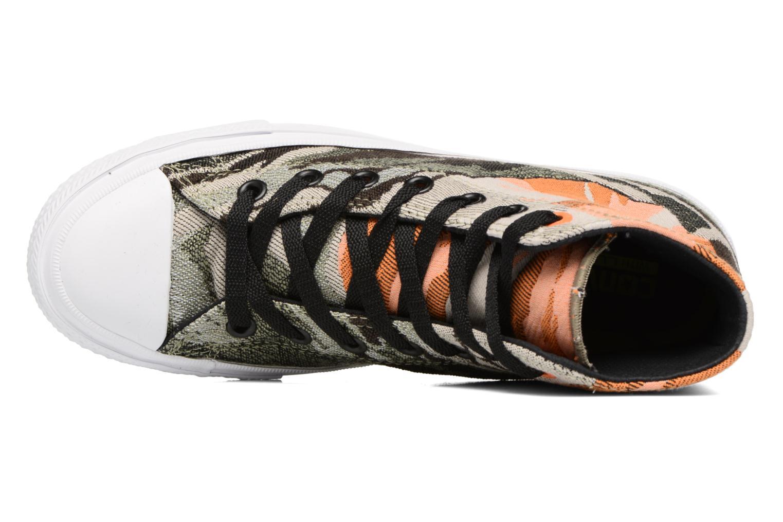 Sneakers Converse Chuck Taylor All Star II Hi W Verde immagine sinistra