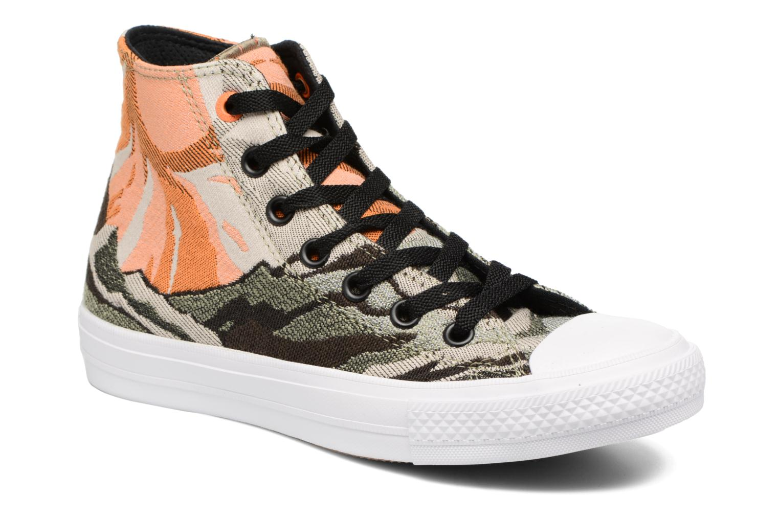 Trainers Converse Chuck Taylor All Star II Hi W Green detailed view/ Pair view