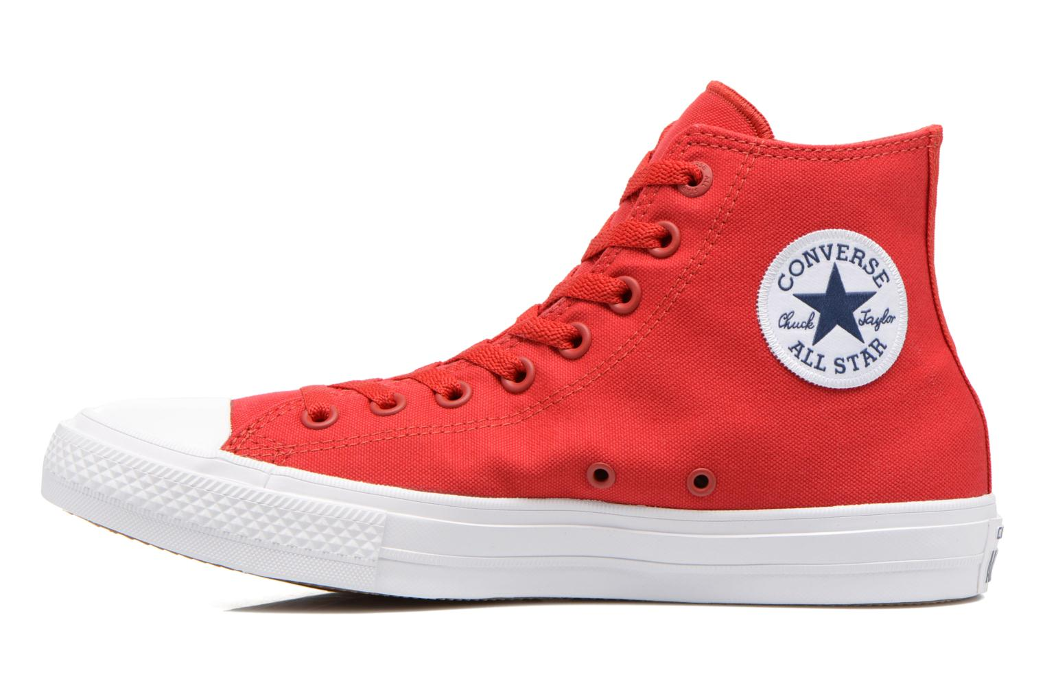 Baskets Converse Chuck Taylor All Star II Hi M Rouge vue face
