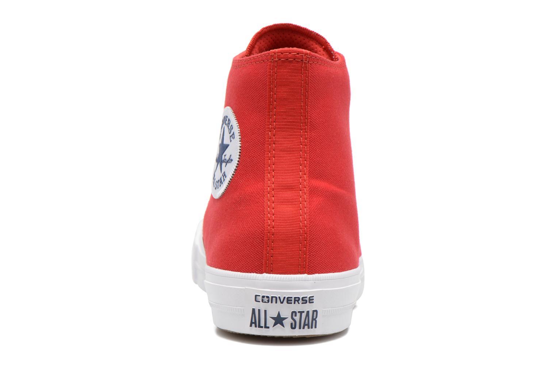 Sneakers Converse Chuck Taylor All Star II Hi M Rood rechts