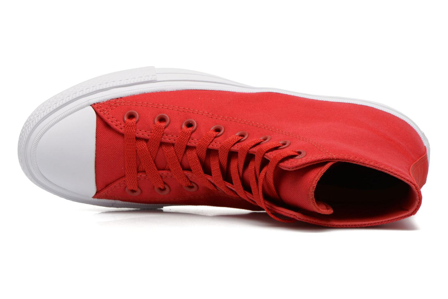 Chuck Taylor All Star II Hi M Salsa Red-White