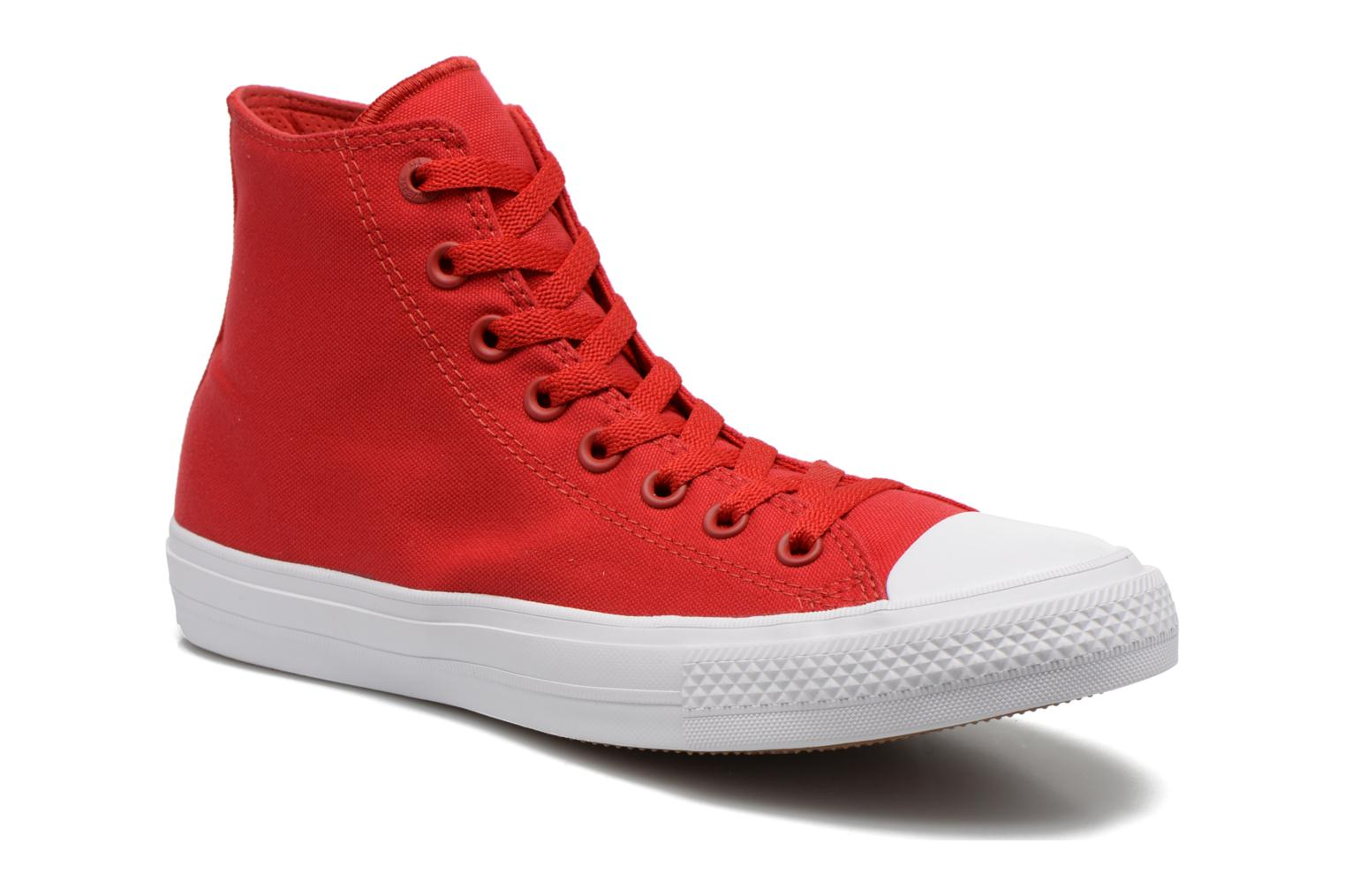 Baskets Converse Chuck Taylor All Star II Hi M Rouge vue détail/paire
