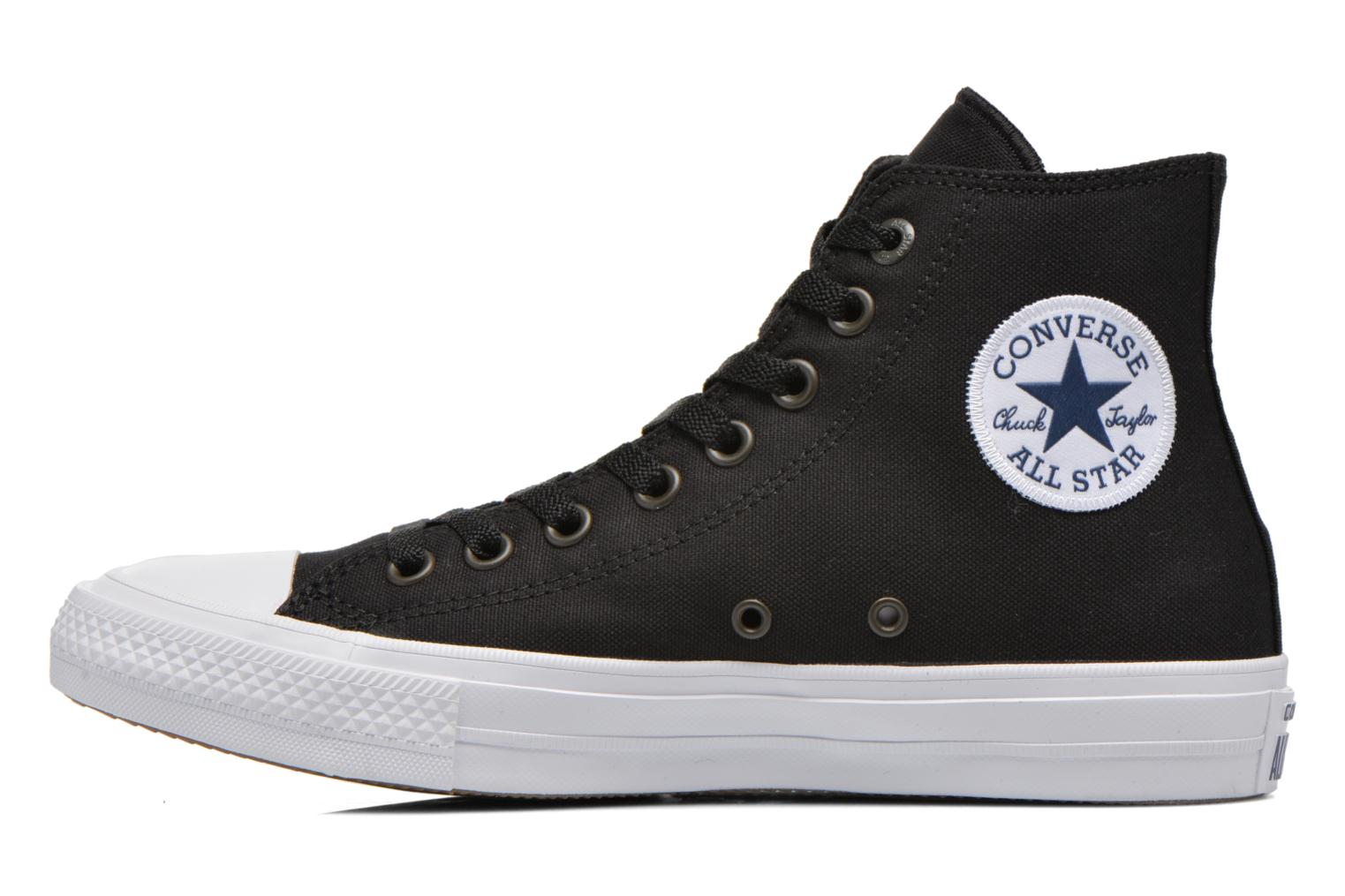 Baskets Converse Chuck Taylor All Star II Hi M Noir vue face