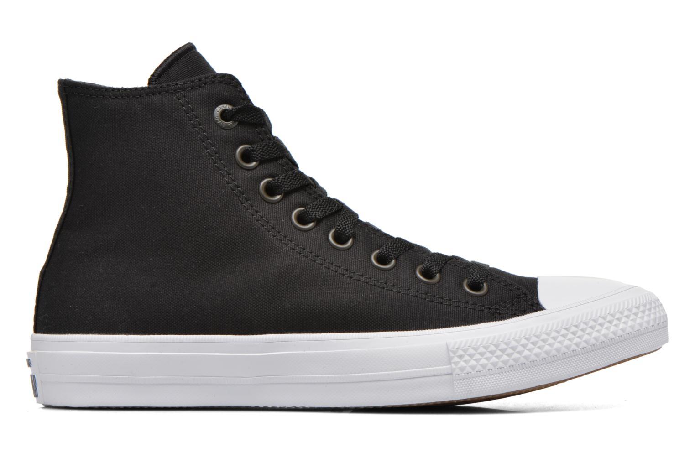 Sneakers Converse Chuck Taylor All Star II Hi M Zwart achterkant
