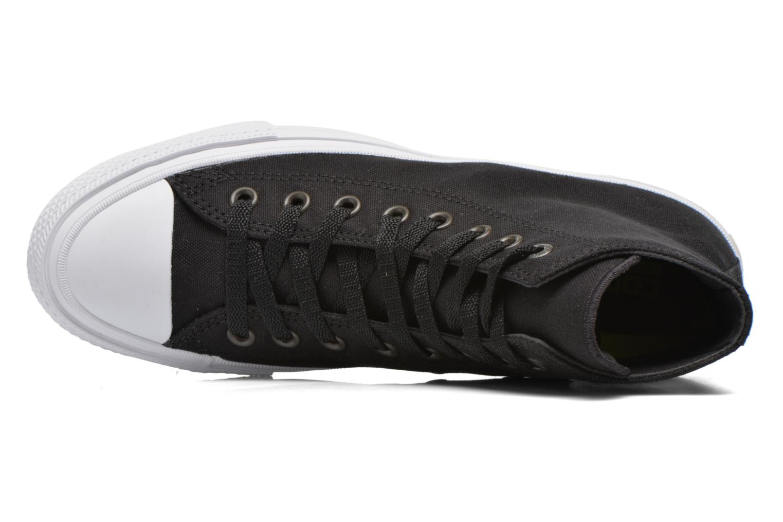 Trainers Converse Chuck Taylor All Star II Hi M Black view from the left