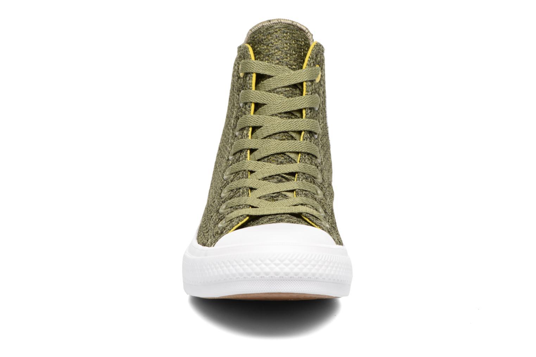 Sneaker Converse Chuck Taylor All Star II Hi M grün schuhe getragen
