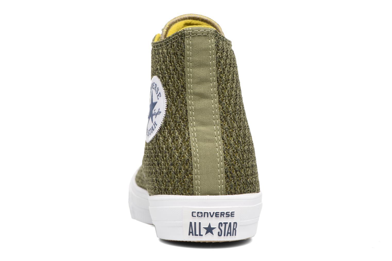 Sneaker Converse Chuck Taylor All Star II Hi M grün ansicht von rechts