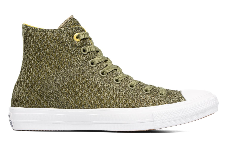 Sneaker Converse Chuck Taylor All Star II Hi M grün ansicht von hinten