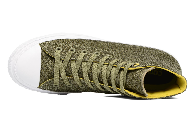 Sneaker Converse Chuck Taylor All Star II Hi M grün ansicht von links