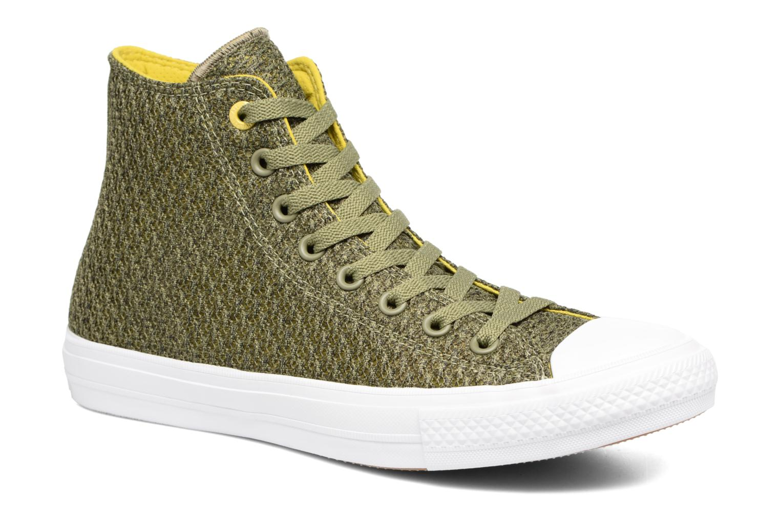 Trainers Converse Chuck Taylor All Star II Hi M Green detailed view/ Pair view