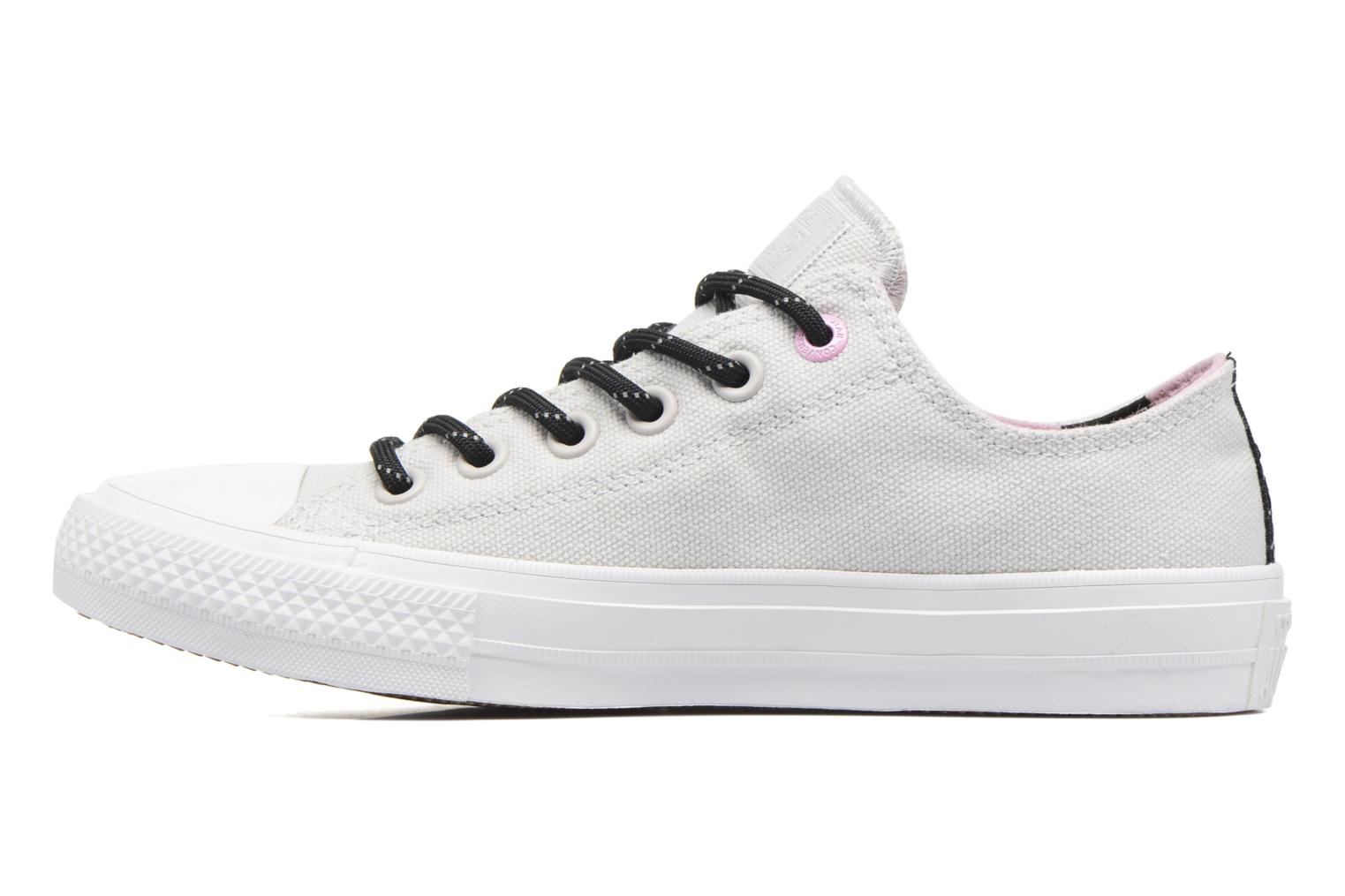 Trainers Converse Chuck Taylor All Star II Ox W Grey front view