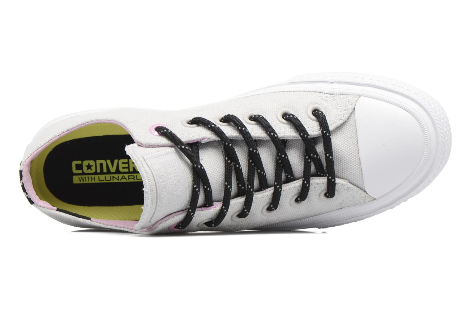 Trainers Converse Chuck Taylor All Star II Ox W Grey view from the left
