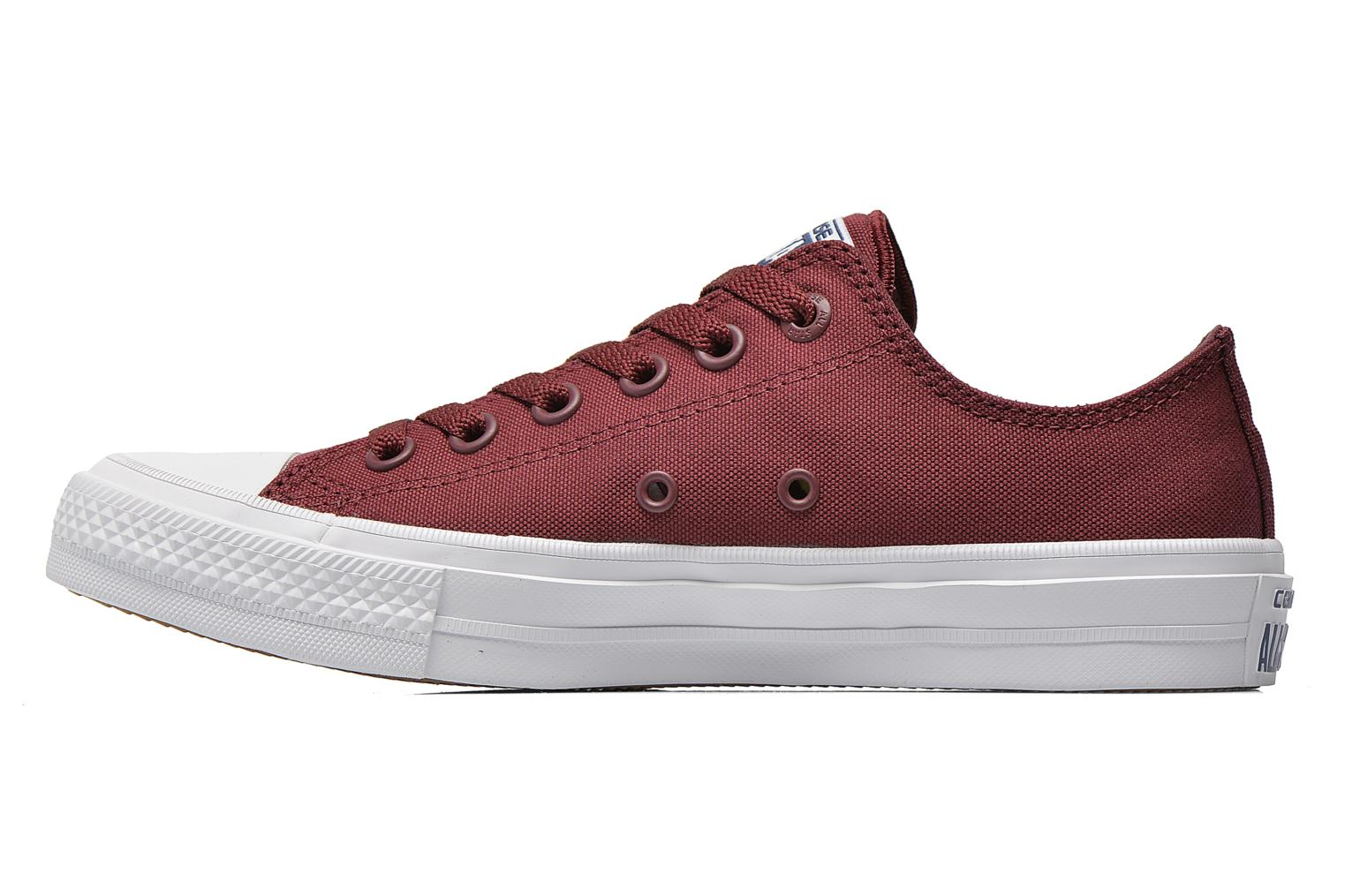 Sneakers Converse Chuck Taylor All Star II Ox M Bordeaux voorkant
