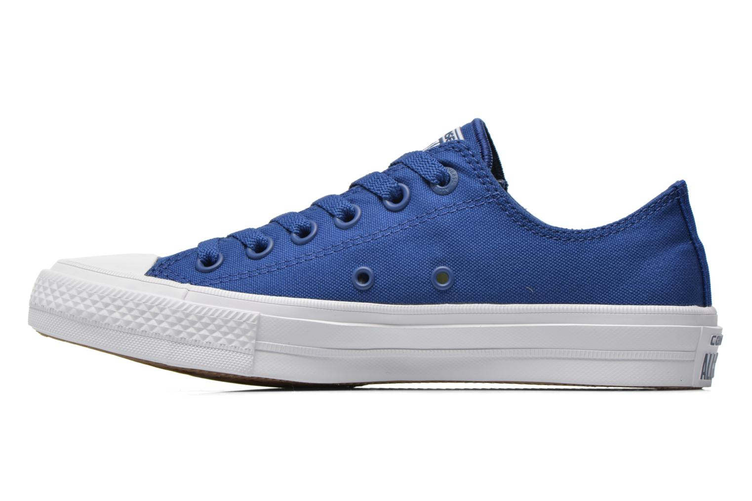 Baskets Converse Chuck Taylor All Star II Ox M Bleu vue face