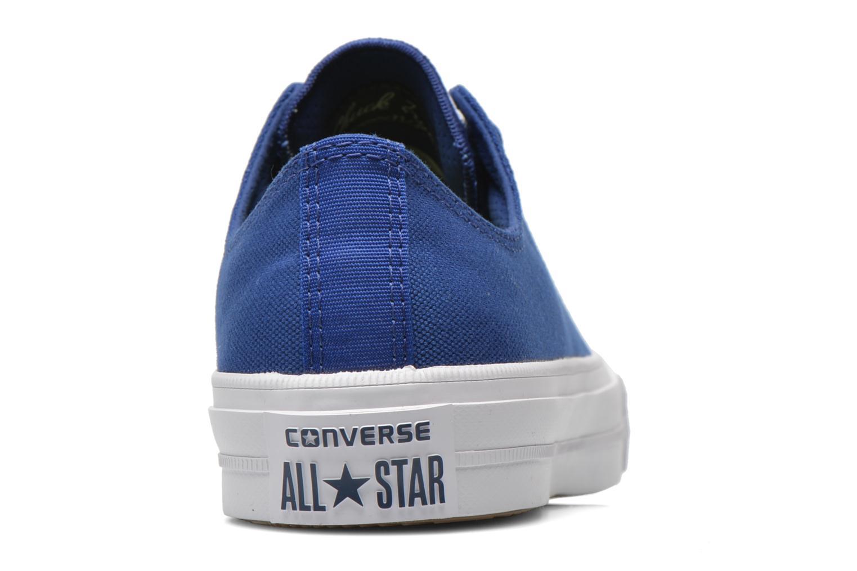Baskets Converse Chuck Taylor All Star II Ox M Bleu vue droite