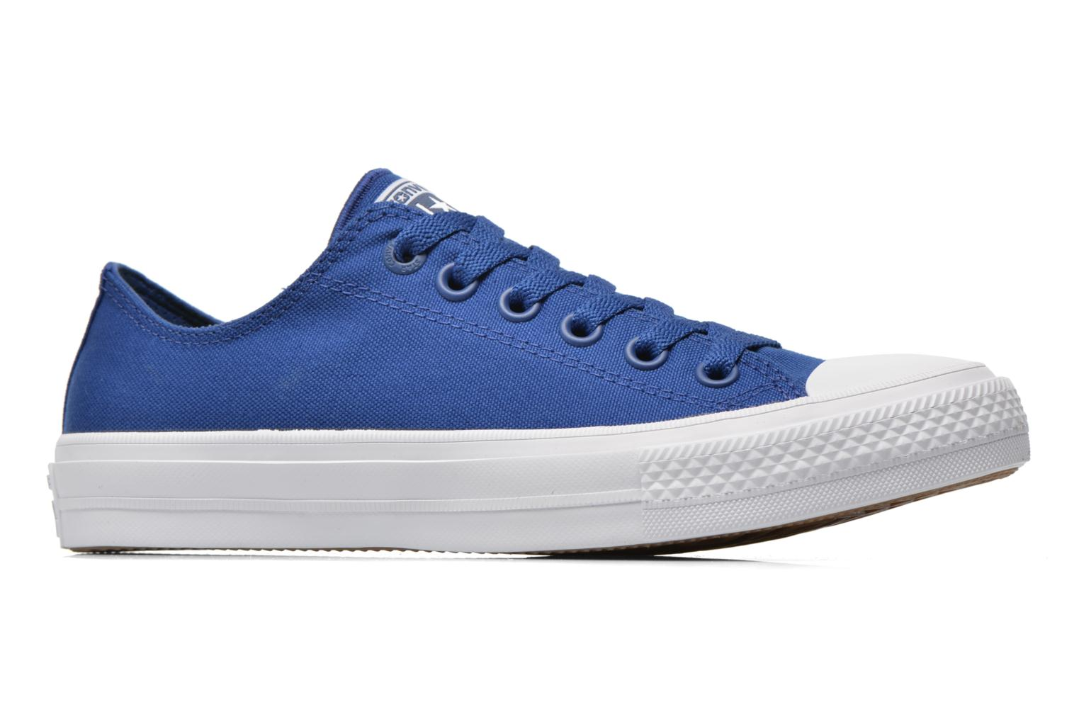 Sneakers Converse Chuck Taylor All Star II Ox M Blauw achterkant