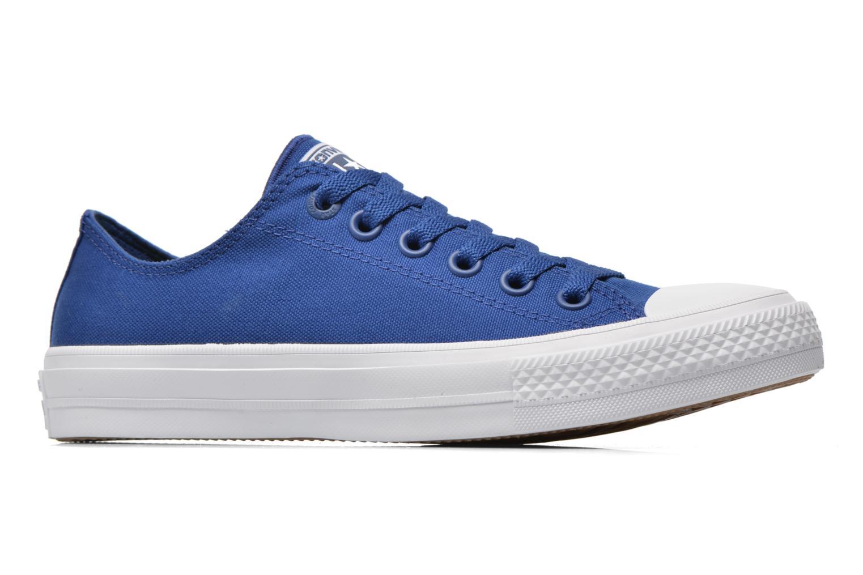 Sneaker Converse Chuck Taylor All Star II Ox M blau ansicht von hinten