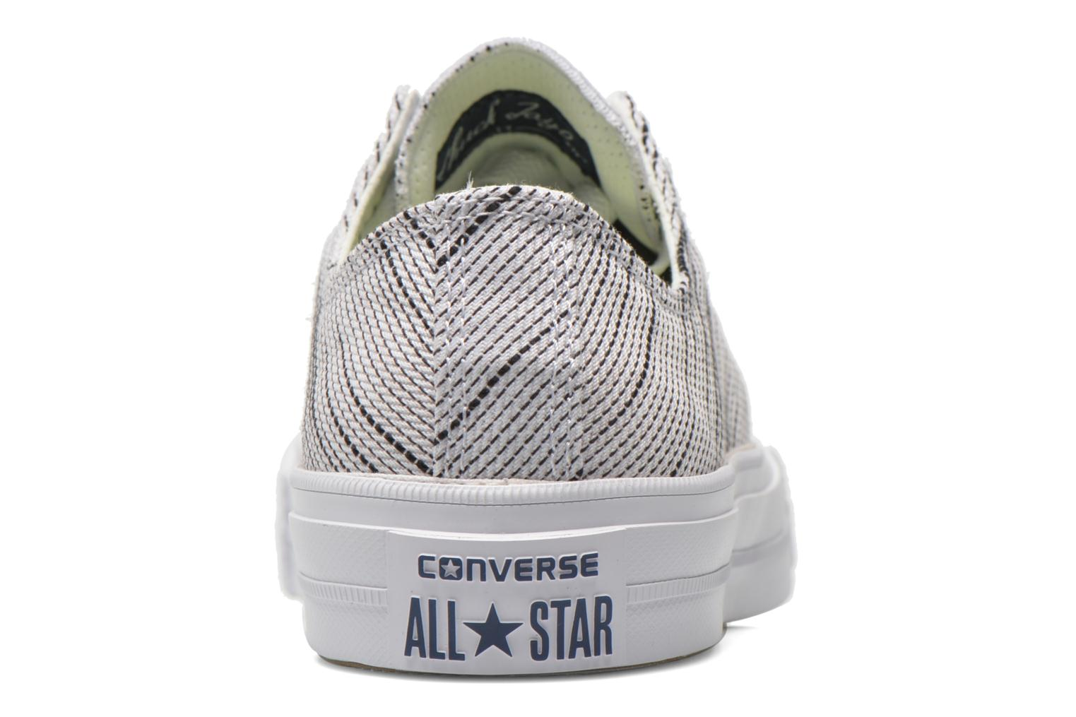 Sneakers Converse Chuck Taylor All Star II Ox M Wit rechts