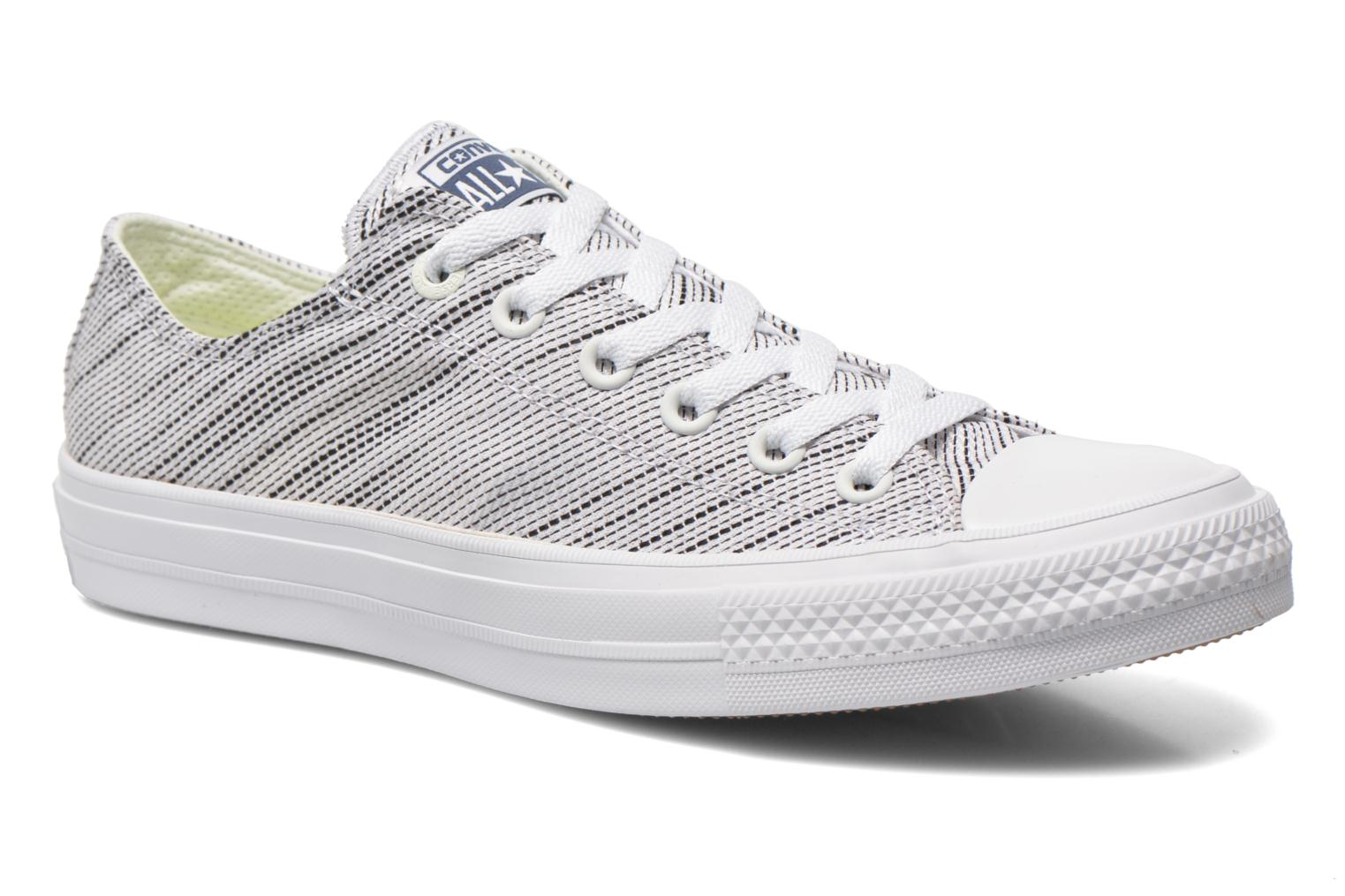 Sneakers Converse Chuck Taylor All Star II Ox M Wit detail