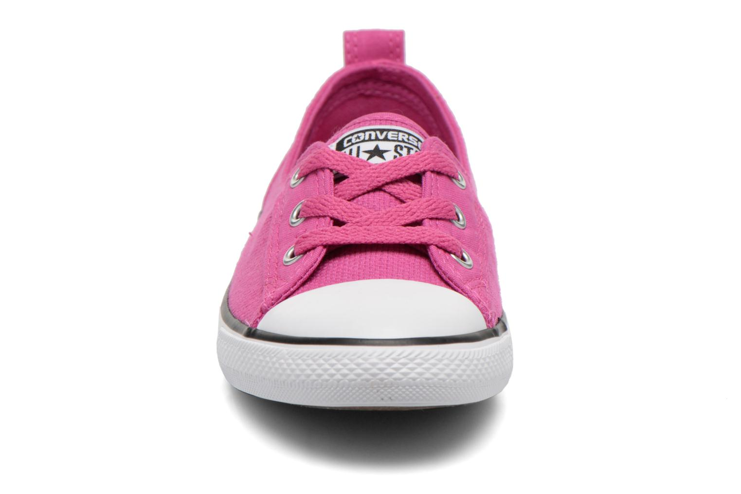 Trainers Converse Chuck Taylor All Star Ballet Lace Pink model view