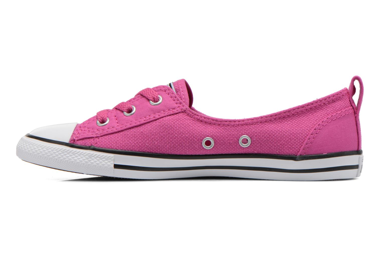 Trainers Converse Chuck Taylor All Star Ballet Lace Pink front view