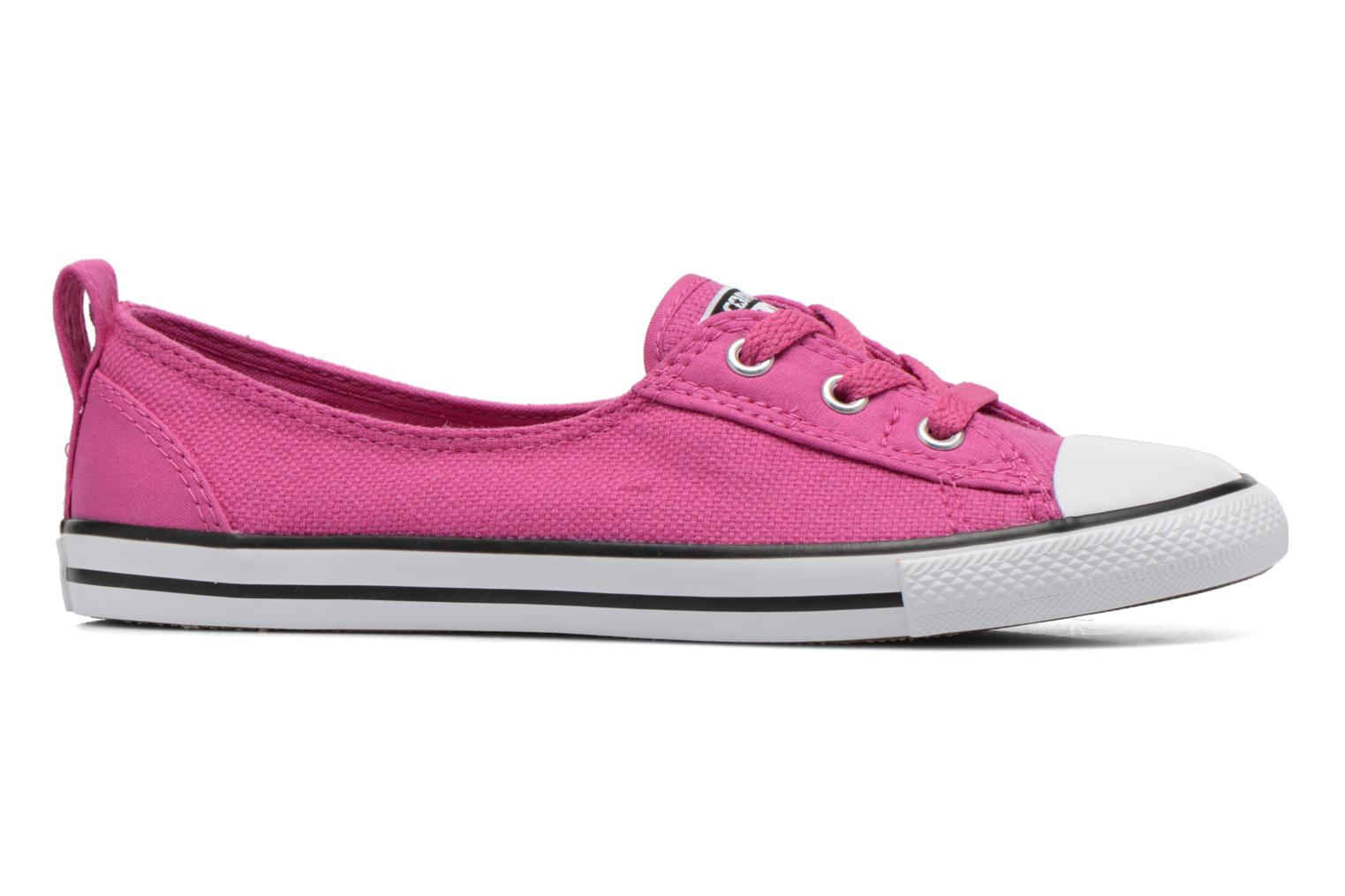Trainers Converse Chuck Taylor All Star Ballet Lace Pink back view