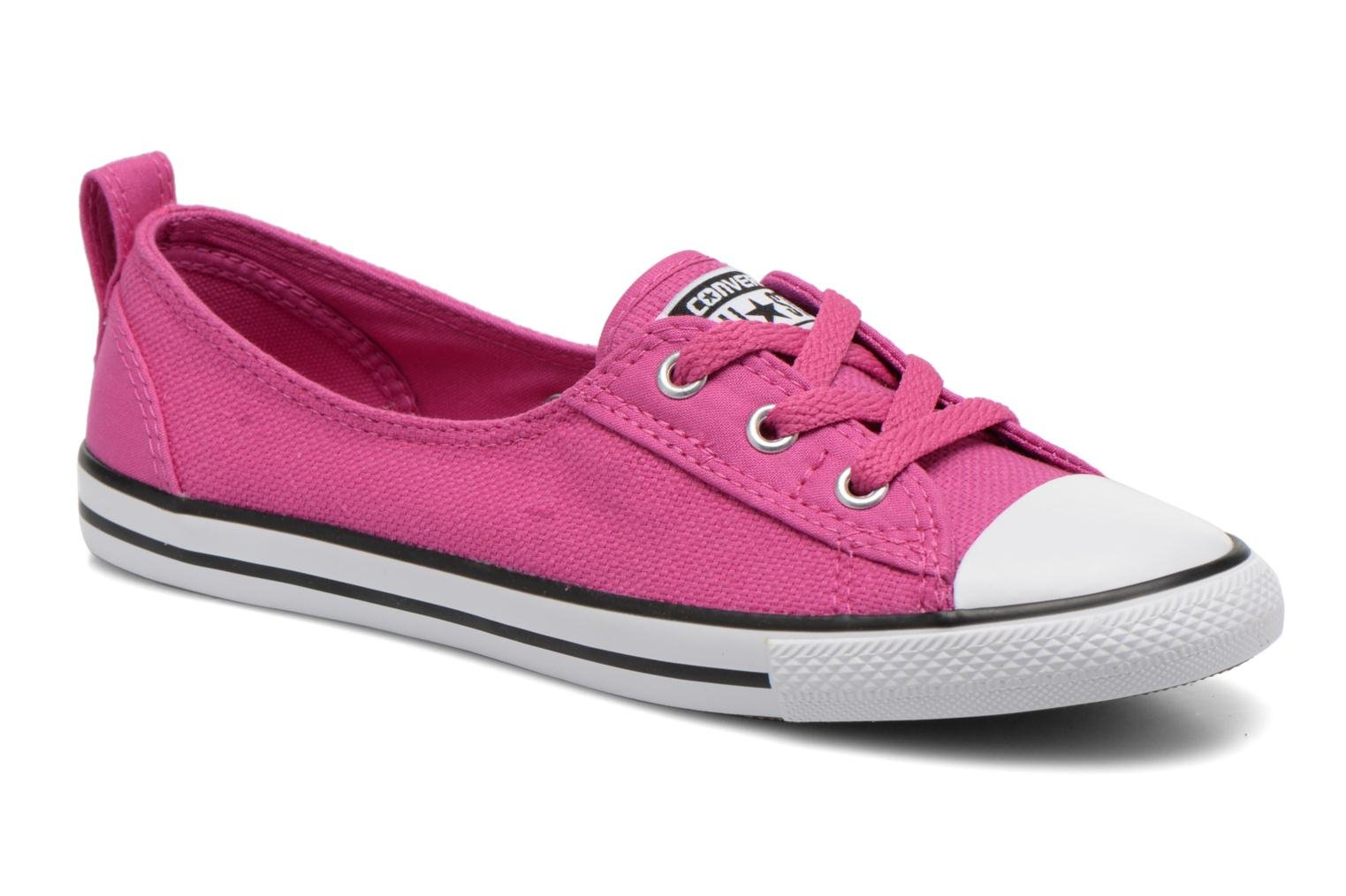 Chuck Taylor All Star Ballet Lace Plastic Pink-White