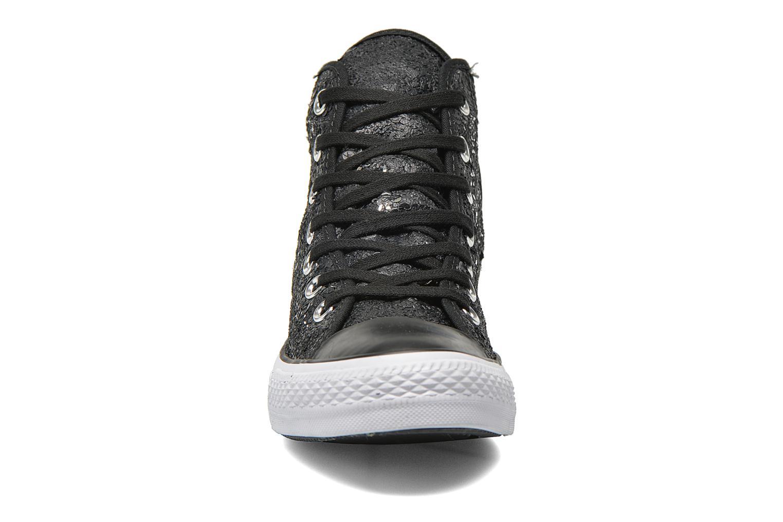 Baskets Converse Chuck Taylor All Star Distressed Sequin Noir vue portées chaussures